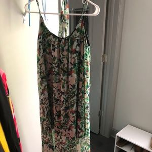 Forever 21 Colorful Maxi Dress, size S
